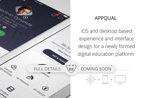 AppQual iPhone and Desktop